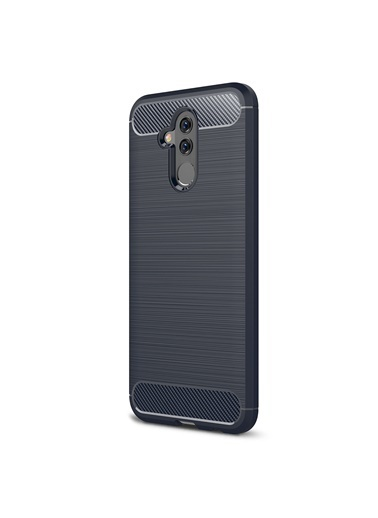 Microsonic Huawei Mate 20 Lite Kılıf Room Silikon  Lacivert